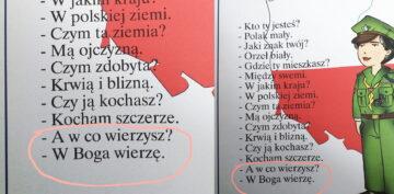 """Nie, minister Czarnek nie zmienił treści wiersza """"Kto ty jesteś?"""""""