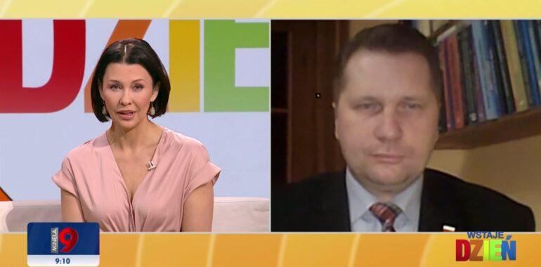 """Nie, wypowiedź ministra Czarnka w sprawie otyłości """"zwłaszcza wśród dziewcząt"""" nie została zmanipulowana"""
