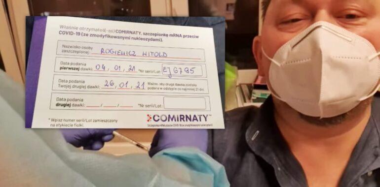 Dr Witold Rogiewicz zmarł po szczepieniu na COVID-19? Brak dowodów