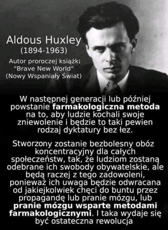 Aldous Huxley ostateczna rewolucja
