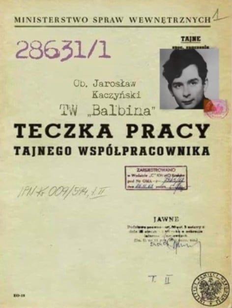 Jarosław Kaczyński Fałszywa Teczka