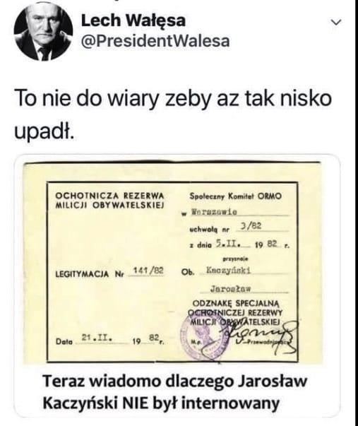 Jarosław Kaczyński Teczka