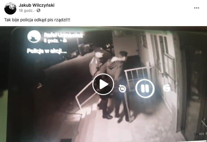 Polska policja bije
