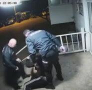 Nie, to nie są polscy policjanci. To nagranie z Mostaru