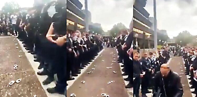 Francuscy policjanci stanęli po stronie obywateli? Sprawdzamy