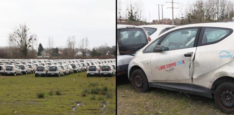 """Setki wyrzuconych """"elektryków"""" z Paryża rozkładają się i zatruwają ziemię? Sprawdzamy"""