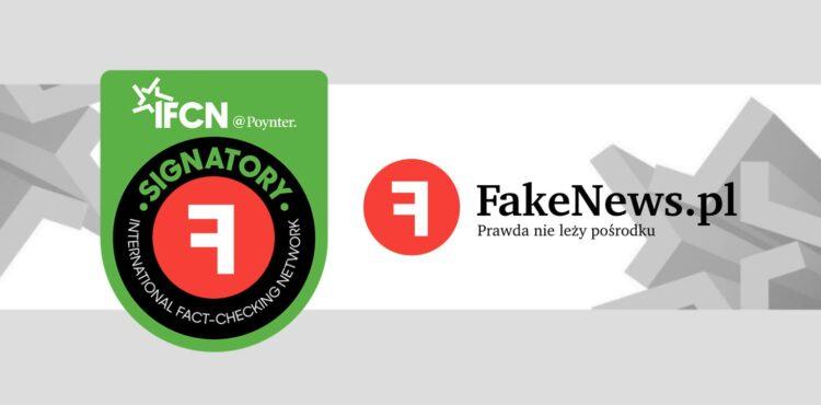Fakenews.pl dołącza do International Fact-Checking Network!