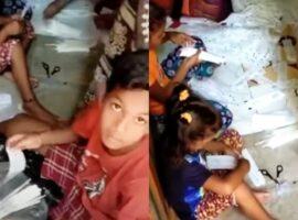Czy na nagraniu z Indii dzieci przygotowują zestawy do testów na COVID-19? Sprawdzamy