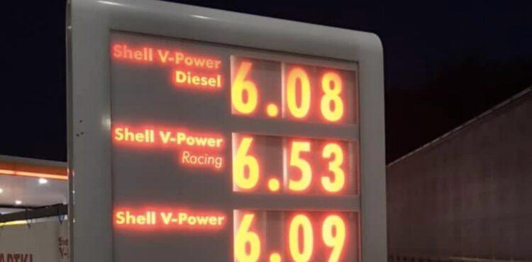 Ceny paliw w Polsce przekroczyły granicę sześciu złotych? Sprawdzamy