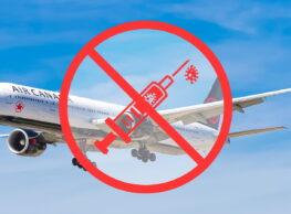 Nie, linie lotnicze nie zakażą lotów osobom zaszczepionym na COVID-19