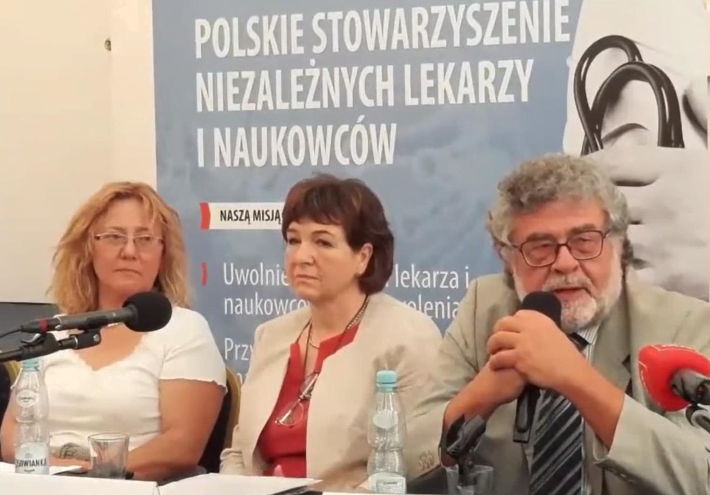 Zbigniew Hałat, Polskie Stowarzyszenie Niezależnych Lekarzy i Naukowców