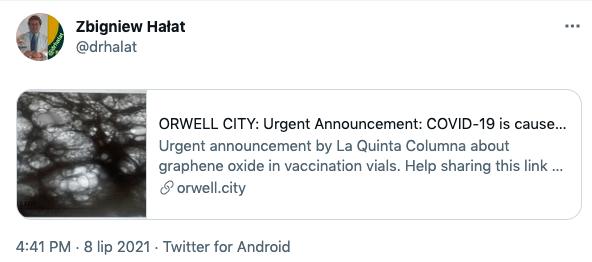 Zbigniew Hałat / Orwell City