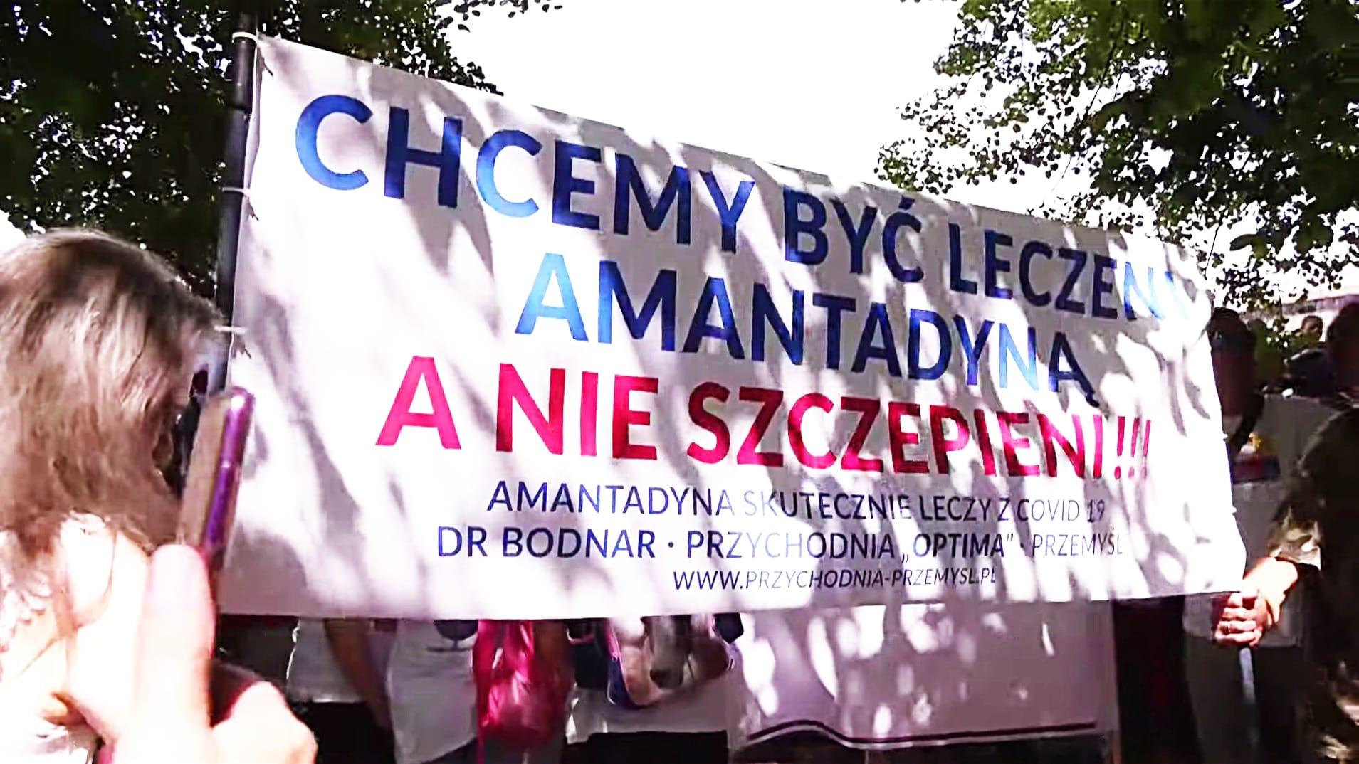 Marsz Wolności w Katowicach / Amantadyna