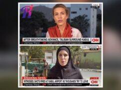 Dziennikarka CNN zmuszona do zmiany stroju po zdobyciu Kabulu przez Talibów? Analiza