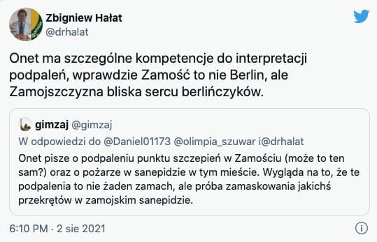 Zbigniew Hałat   Zamość