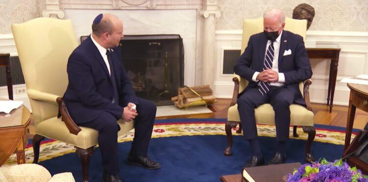 Czy Joe Biden zasnął podczas spotkania z premierem Izraela? Sprawdzamy
