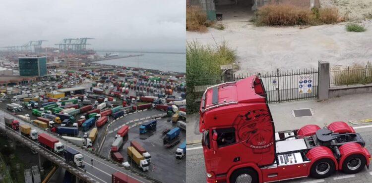 Blokada Włoch przez kierowców ciężarówek? Sprawdzamy
