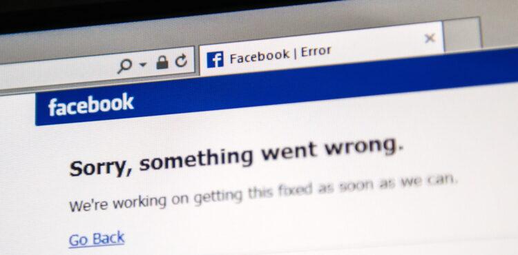 Przyczyną awarii Facebooka była kradzież danych użytkowników? Nieprawda